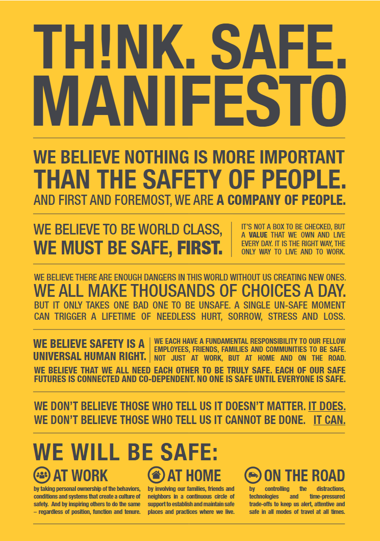 safety manifesto image